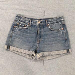 GRLFRND denim Karlie shorts